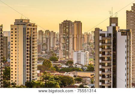 Amazing Skyline of Sao Paulo, Brazil - Latin America