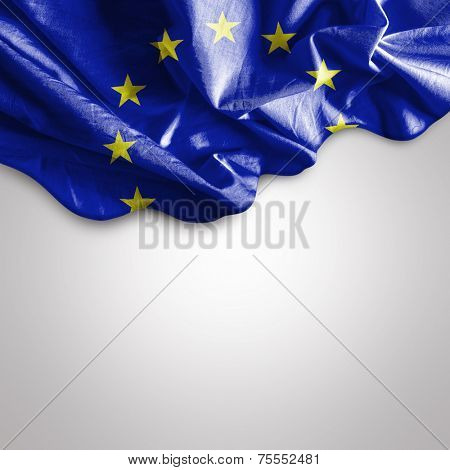 Amazing Flag of European Union