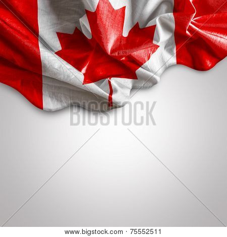 Amazing Flag of Canada, North Europe