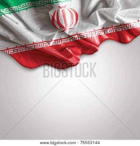 Waving Flag of Iran, Western Asia