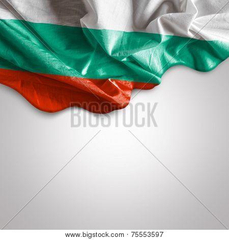 Waving flag of Bulgaria, Europe