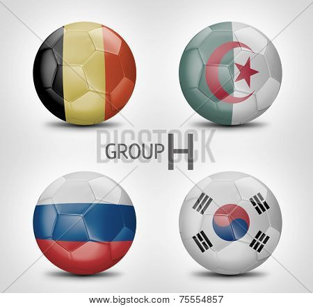 Group H - Belgium, Algeria , Russia, South Korea (Brazil)