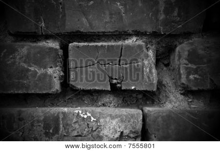 Dark Brick Background