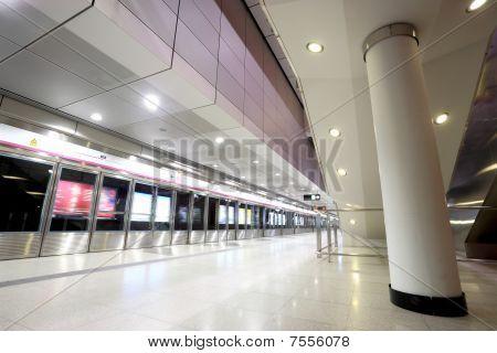 Hong Kong train station