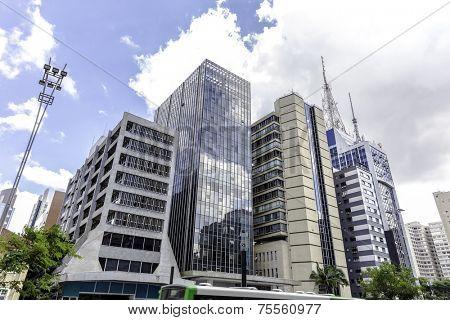 Paulista in Sao Paulo, Brazil