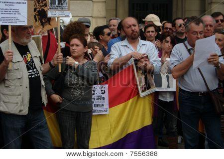 Protest in Seville