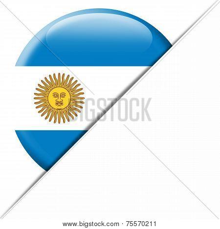 Argentina Pocket Flag