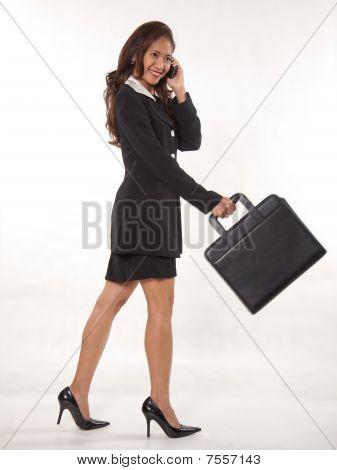 Attractive Female Asian Businesswoman
