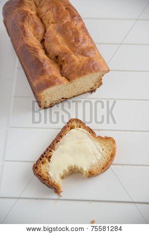 Home made French Brioche Bread