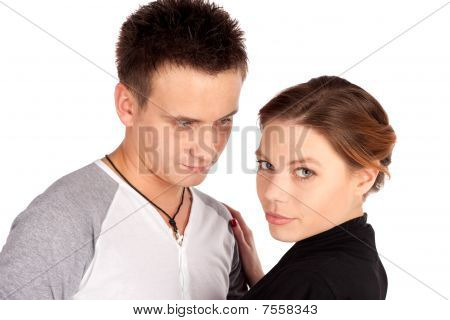 Couple In Love Portrait