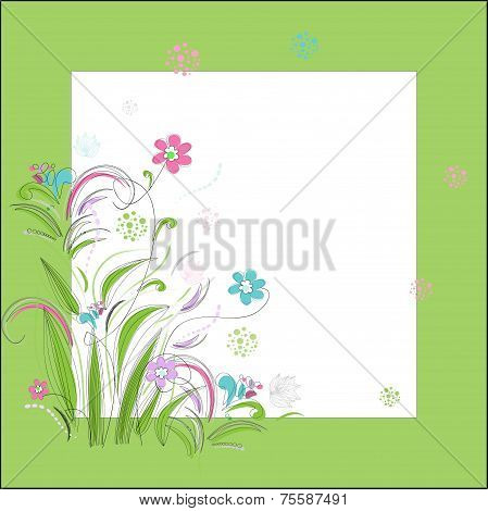 Romantic scrapbooking for invitation, greeting