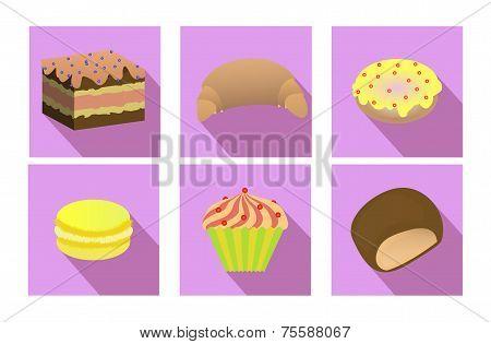 Flat Set Of Baking