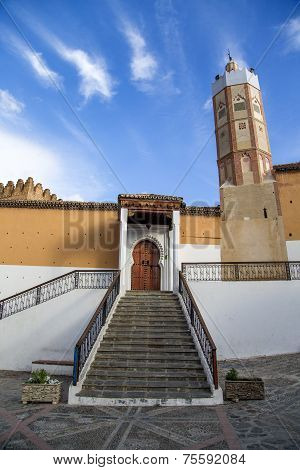 Grand Mosque In Chefchaouen, Morocco