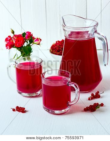 Drink From Red Currant