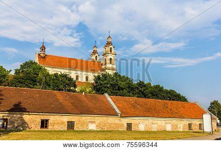 Church Of Saint Raphael In Vilnius, Lithuania