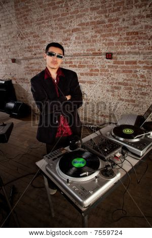 Cool Dj Pose