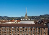 picture of torino  - The Mole Antonelliana Turin Torino Piedmont Italy - JPG