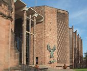 stock photo of church-of-england  - St Michael Cathedral church Coventry England UK - JPG