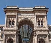 image of emanuele  - Galleria Vittorio Emanuele II in Milan Italy - JPG