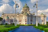 pic of throne  - Ananta Samakhom Throne Hall In Dusit Palace - JPG