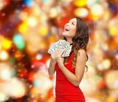 picture of american money  - christmas - JPG