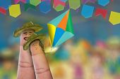 foto of reveillon  - Festa Junina Party with this lovely finger couple - JPG