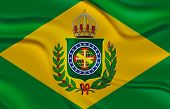 picture of negro  - Flag of the Second Empire of Brazil - JPG