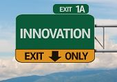stock photo of revelation  - Creative Innovation Exit Only - JPG