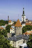 picture of olaf  - Scenic summer aerial of Tallinn - JPG
