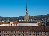 pic of torino  - The Mole Antonelliana Turin Torino Piedmont Italy - JPG