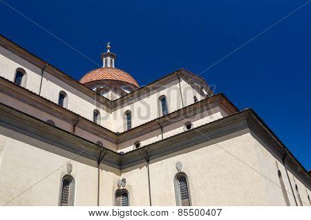 The Basilica Of Santa Maria Del Santo Spirito, Florence, Italy.
