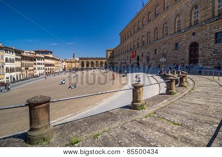 Palazzo Pitti, Is A Vast Mainly Renaissance Palace In Florence.