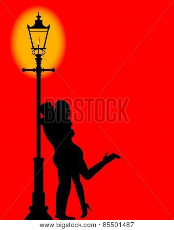 Kissing Under The Lamppost