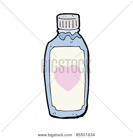 cartoon love potion