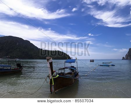 Boats of Koh Phi Phi Don