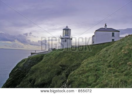 Clifftop lighthouse