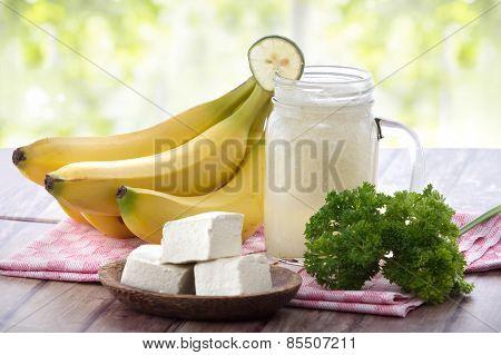 Tofu Meets Fruit Smoothies