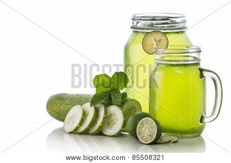 Cucumber And Lime Mix Juice