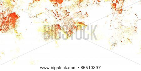 Abstract Ink Stains