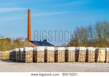 Biofuel And Chimney