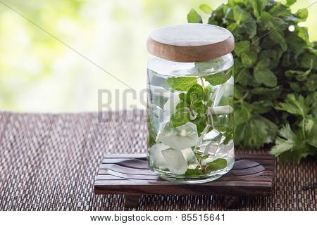 Mint Infuse Water