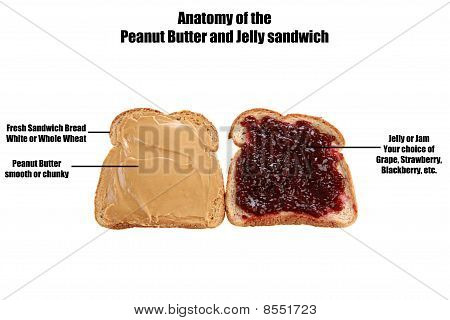 "How to make a ""Peanut Butter and Jelly Sandwich"""