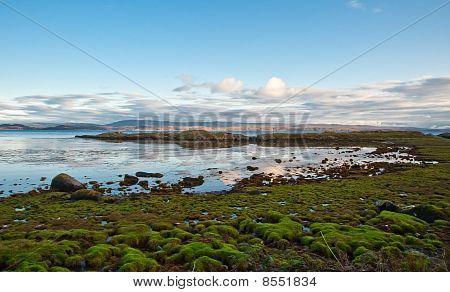 Jura shoreline
