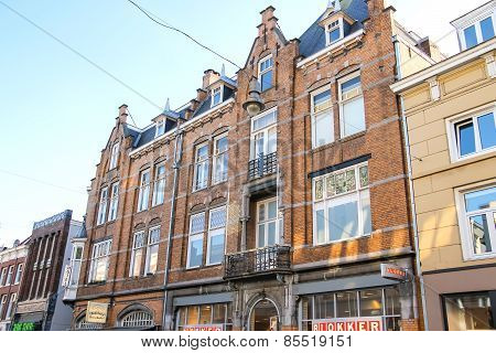 Beautiful Old House In The Center Of The Dutch City Of Den Bosch