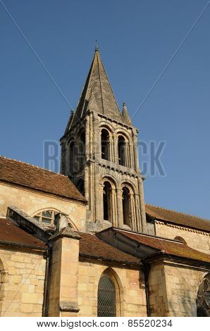 Ile De France, The Old Church Of Jouy Le Moutier