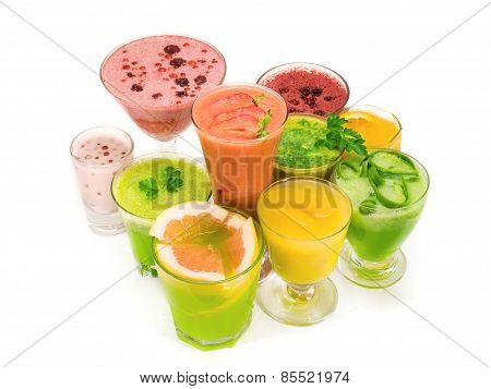 Cocktails Collection - Healthy Drinks