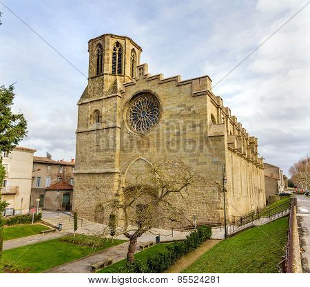 St. Michael's Cathedral Of Carcassonne - France