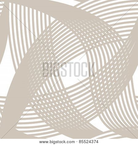 Crossing lines seamless pattern on white background