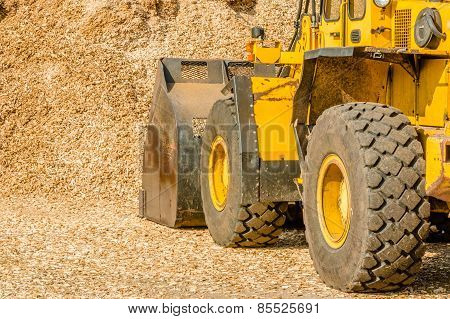 Yellow Front Loader