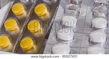 medicinal tablets